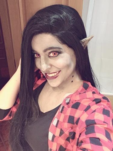 Marceline Reina Vampiro Mokona Cosplay