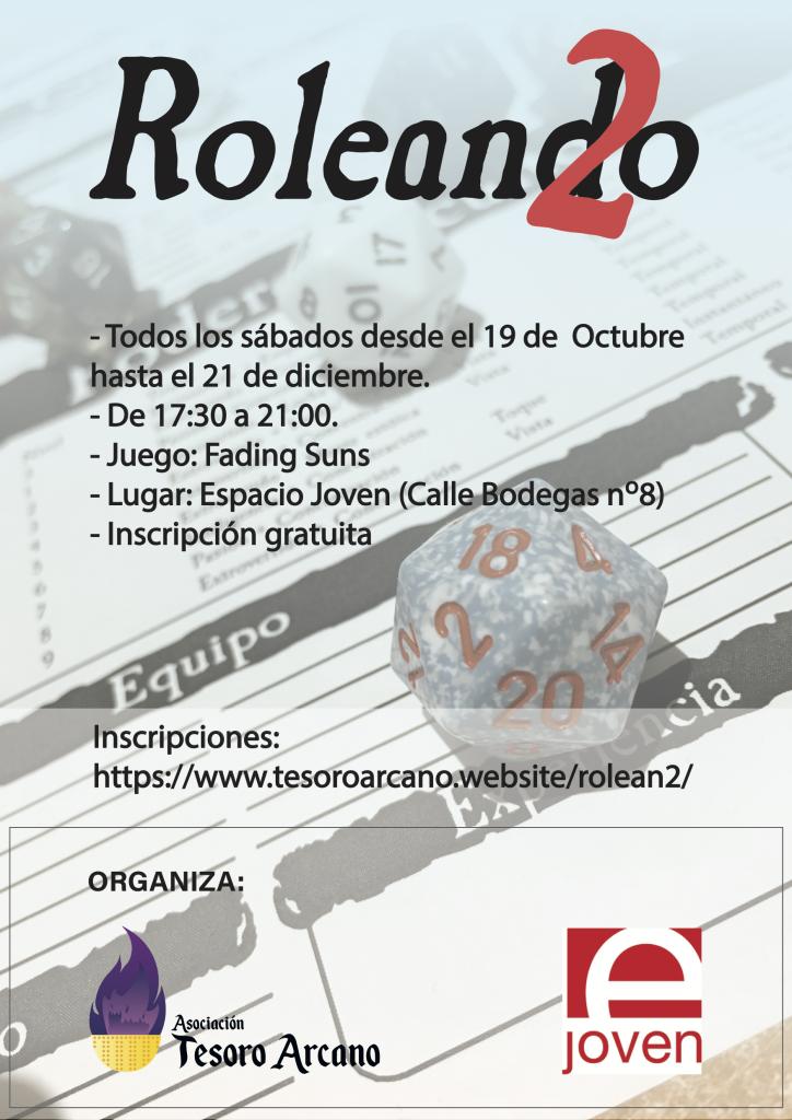 Roleando Rolean2 Asociacion Tesoro Arcano